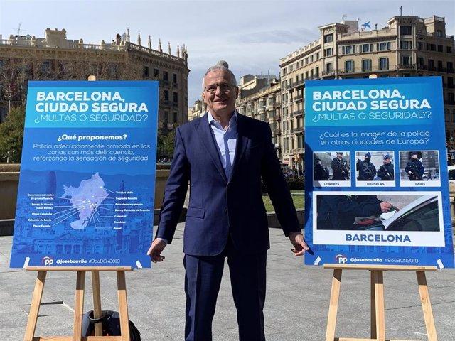 Bou (PP) dice que si es alcalde arrancará el lazo amarillo y pondrá una imagen d