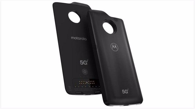 Motorola lanza su Moto Mod que permite conectarse a las redes 5G con el Moto z3