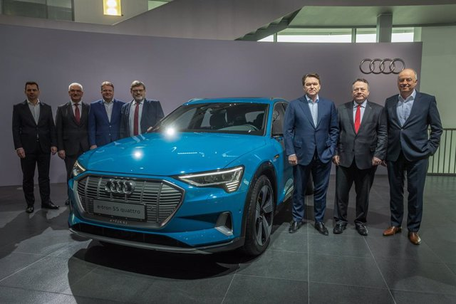 Audi annual press conference in Germany