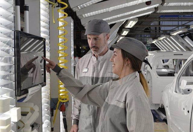 Economía/Motor.- La planta del Grupo PSA en Vigo utiliza el Big Data para mejora