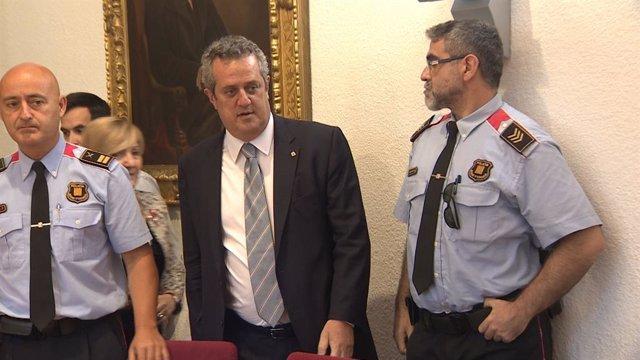 El conseller de Interior Joaquim Forn