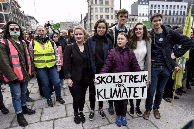 Climate march in Belgium