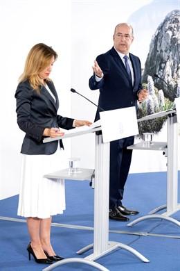 Rosa Dávila y Pedro Ortega