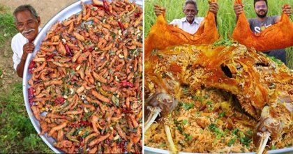 Conocido como Grandpa Kitchen, este hombre de 73 años cocina y dona comida a organizaciones benéficas en India