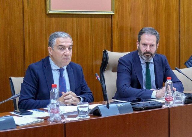 """PSOE-A exige a la Junta que """"no oculte"""" su plan normativo y Bendodo garantiza qu"""