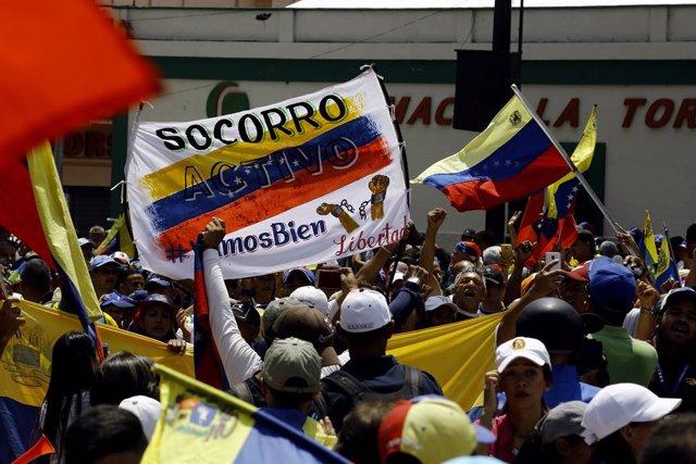 """AMP.-Venezuela.-Bachelet denuncia la """"espiral"""" de crisis, protestas y represión"""