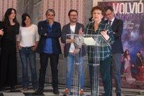 La actriz Beatriz Carvajal en la presentación de '
