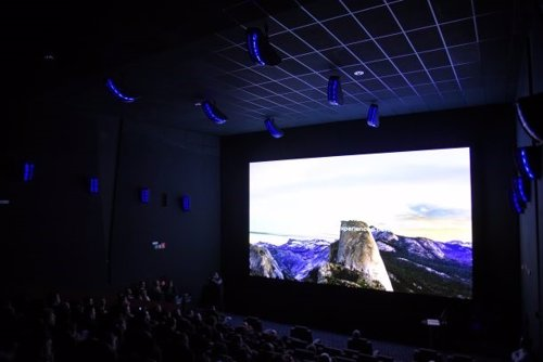 La experiencia inmersiva de la pantalla de cine LED Onyx de Samsung llega a Espa