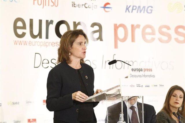 """Agua.- Ribera advierte de que España está en """"situación de sequía hidrológica"""" y"""