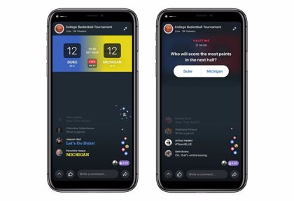 Facebook introduce en sus Watch Party la posibilidad de ver televisión en tiempo real de forma compartida