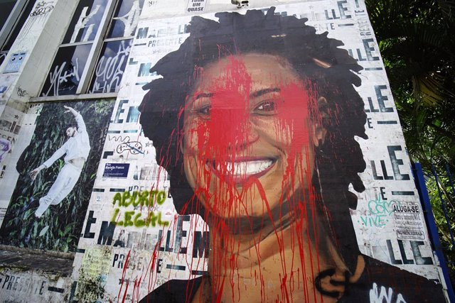 Two policemen arrested over Marielle Franco\'s murder in Brazil