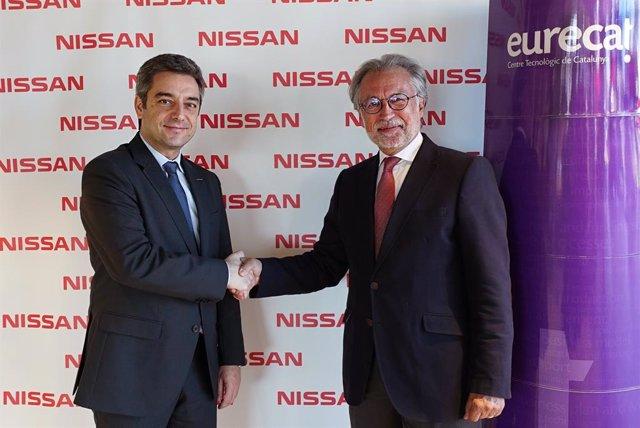 Motor.- Nissan i Eurecat signen un acord estratgic centrat en la innovació