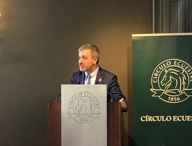 Collboni (PSC) vulgues que Barcelona aculli l'Exposició Universal en 2030