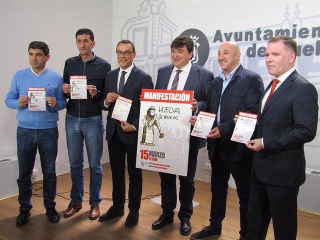 Huelva.- Diputación, Ayuntamiento y agentes sociales presentan 'Huelva se mueve'