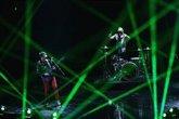 """Foto: Muse admiten que """"finalmente"""" han ido """"demasiado lejos"""" con el montaje de su actual gira"""