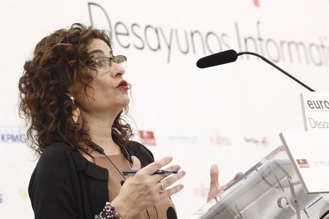 28A.- Av.- El PSOE proposa que Montero lideri la llista al Congrés per Sevilla