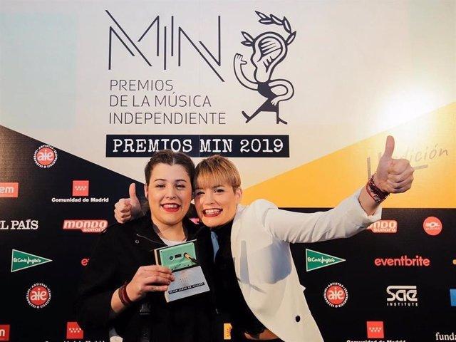 Tanxugueiras, premio al mejor álbum en gallego 2018 en los premios de la música