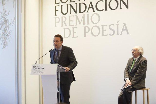 """Basilio Sánchez, Premio de Poesía Fundación Loewe 2018: """"el premio es un espacio"""