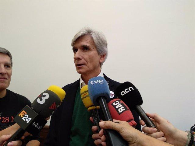 El dtor.Gerente del ICS Josep Maria Argimon