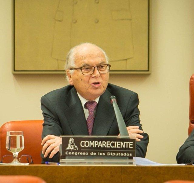 Carlos Granados, presidente de la Junta Electoral Central
