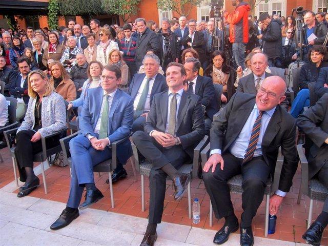 """Casado se ve ganador porque """"los ciudadanos ven que España no va bien y urgen un"""