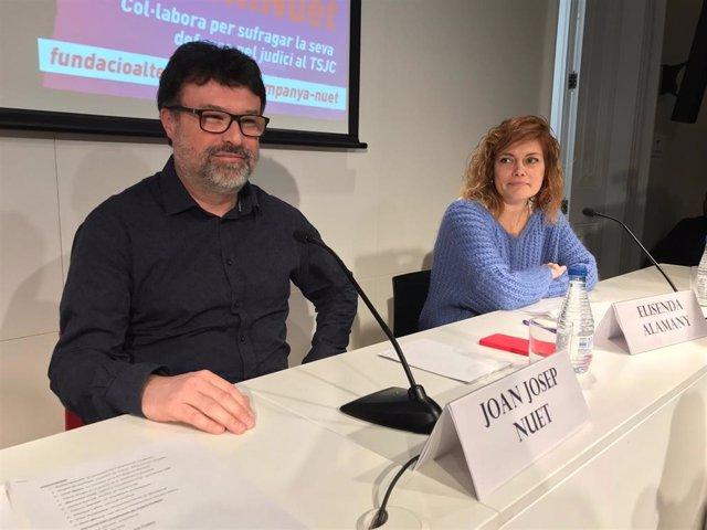 28A.- Comunistas de Cataluña aprueba concurrir con ERC y Nuet podría estar en la