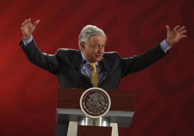 Mexican President Obrador marks International Women\'s Day
