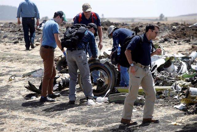 Familiares de víctimas del vuelo ET302 abandonan la reunión con Ethiopian Airlin