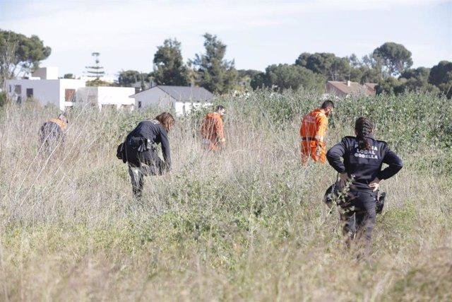 Desaparecidos dos niños en Godella