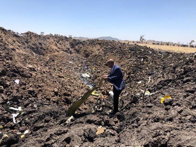 Economía.- Singapur suspenderá temporalmente los vuelos de los aviones Boeing 737 MAX tras el accidente en Etiopía
