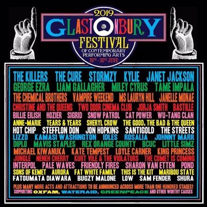 El apabullante cartel de Glastonbury 2019 (con Rosalía incluida)