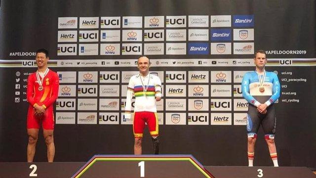 Ciclisme.- Espanya signa tres medalles i un rècord del món en l'estrena del Mu