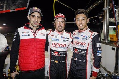 Alonso logra una 'pole' de récord para Toyota en Sebring