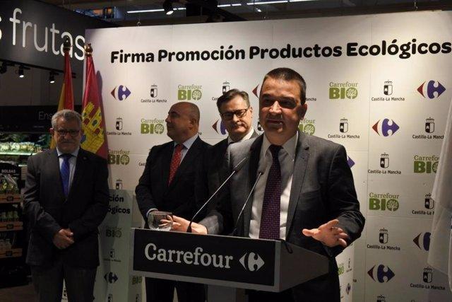 Carrefour diferenciará productos ecológicos certificados en C-LM dentro de sus s