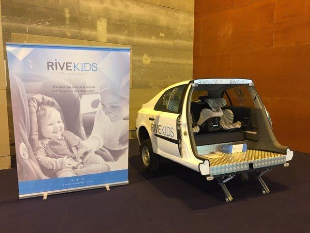 Rivekids lleva a Motortec su dispositivo Rivekids, que cumple dos años con 7.000