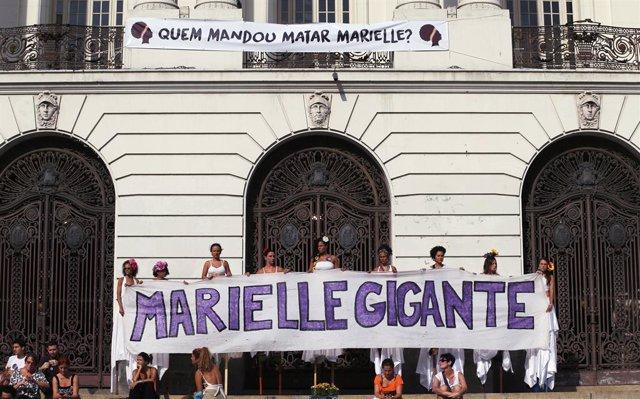 """""""¿Quién Mandó Matar A Marielle Franco?"""", Concentraciones En Brasil Y Argentina E"""