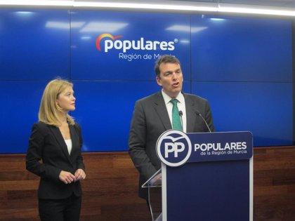"""PP: """"Conesa va a pasar a la historia como el único delegado que no ha hecho ni un centímetro de soterramiento en Murcia"""""""