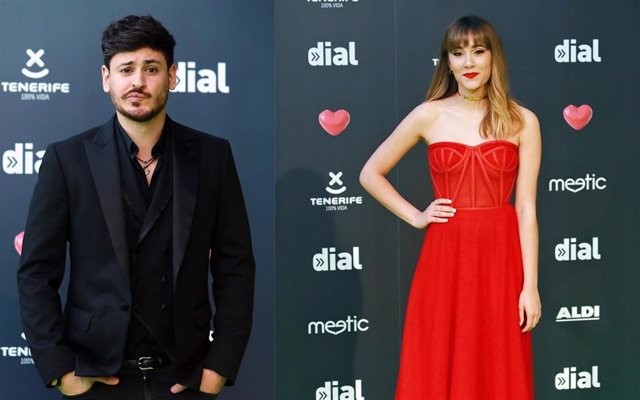 Aitana y Cepeda vuelven a verse las caras en los Premios Cadena Dial