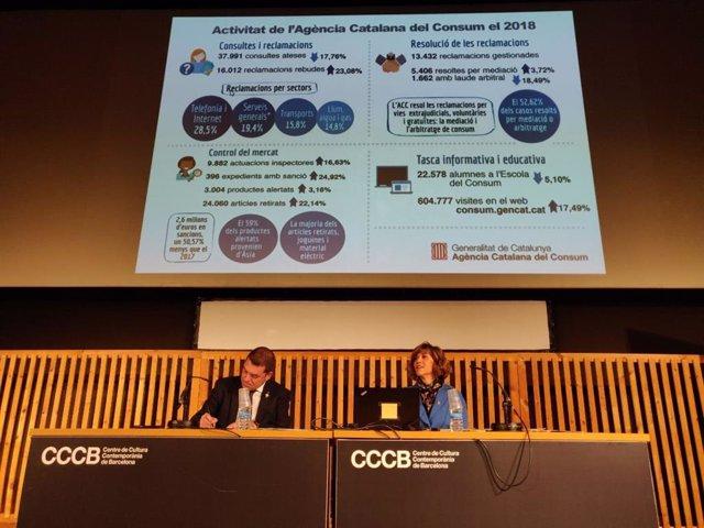 Av.- La Generalitat proposa sancionar amb 7,9 milions a les telefòniques per aum