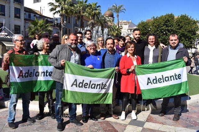 Huelva.- 26M.-Podemos e IU concurrirán como 'Adelante Huelva' en 45 municipios y