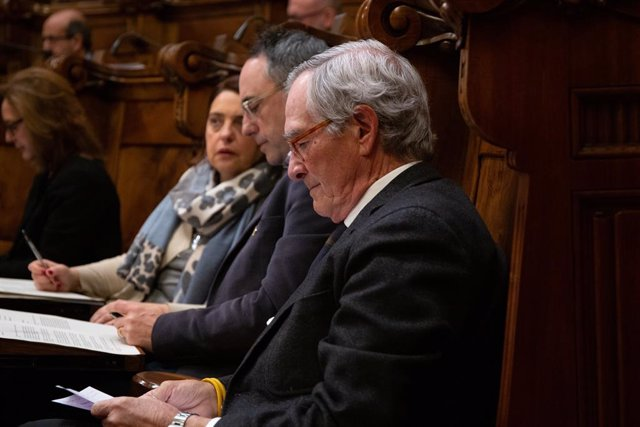 Pleno extraordinario en el Ayuntamiento de Barcelona sobre el estado de la ciuda