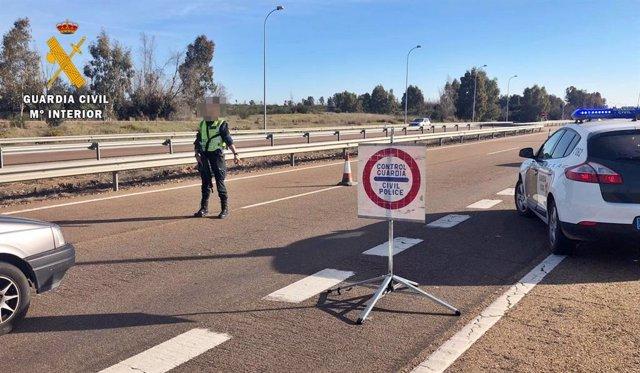 """Sucesos.- Detenido en Badajoz un """"peligroso"""" delincuente que huyó de un control"""