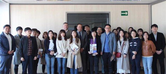 Málaga.- Turismo.- Una delegación coreana viaja a Málaga para conocer el modelo