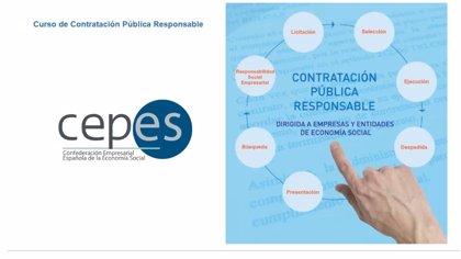 CEPES organiza el primer programa formativo online para empresas sobre 'Contratación Pública Responsable'