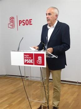 El diputado socialista Alfonso Martínez Baños
