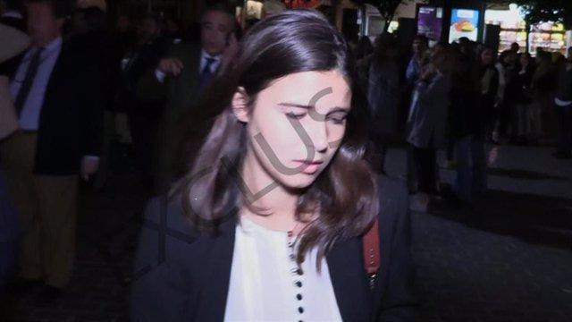 Tana Rivera no puede evitar las lágrimas al recordar a  Rafael González Serna