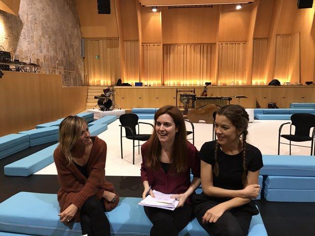 """El Palau de la Música estrena un """"viatge tímbric"""" per a nadons"""