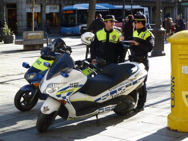 Agentes de movilidad de Toledo