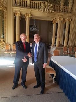 España y Portugal avanzan en la coordinación para conmemorar conjuntamente a Mag