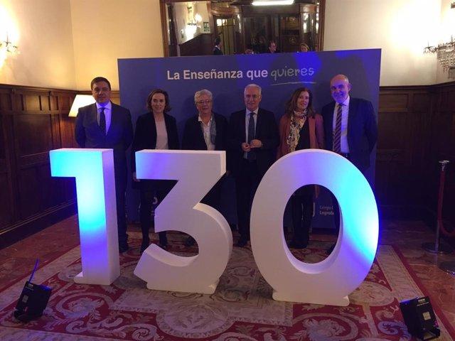 La alcaldesa destaca el papel que ha desempeñado en la evolución de Logroño 'La